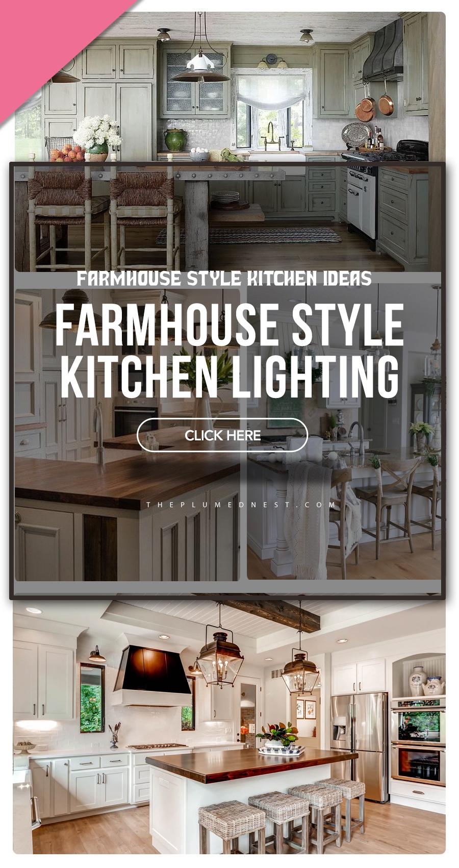 farmhouse kitchen decorating