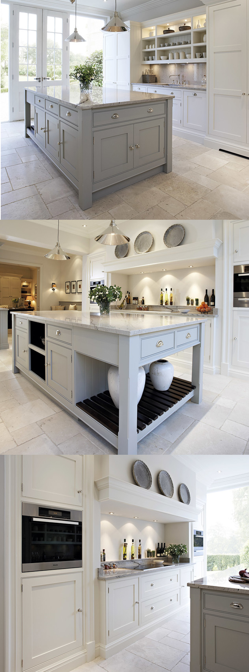 shaker cabinets white