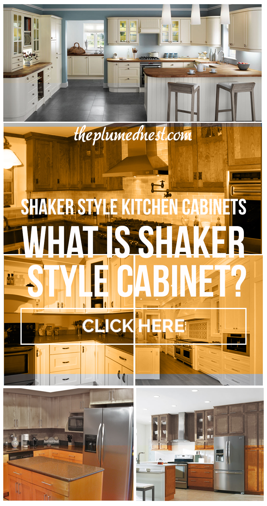 shaker cabinets definition
