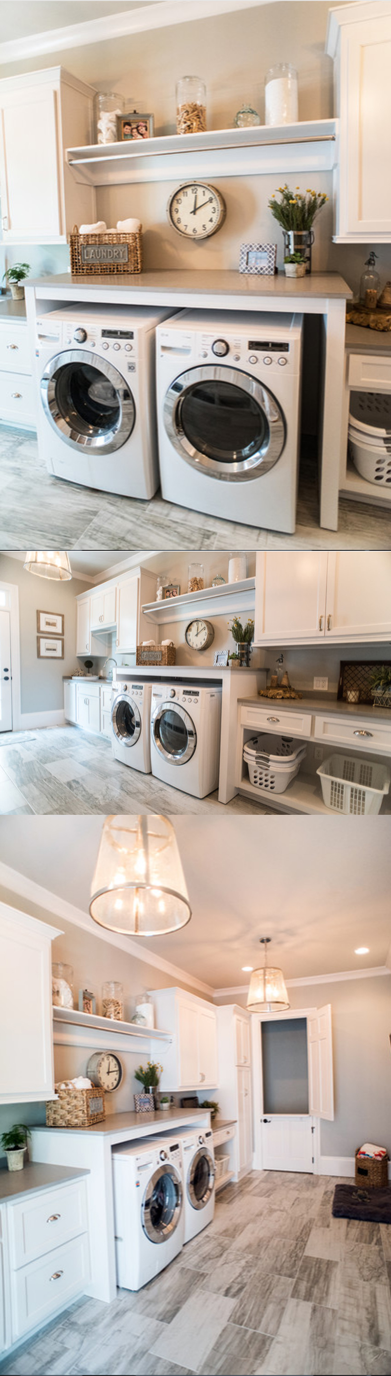 inexpensive laundry room makeovers